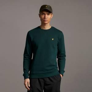 Crew Neck Sweatshirt - Dark Green