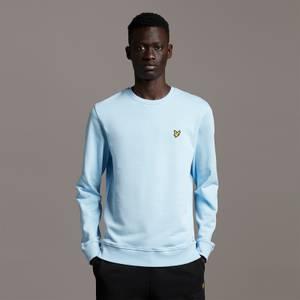 Crew Neck Sweatshirt - Light Blue