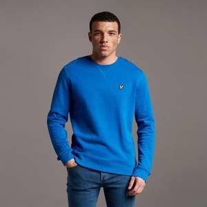 Crew Neck Sweatshirt - Bright Blue