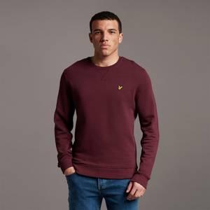 Crew Neck Sweatshirt - Burgundy