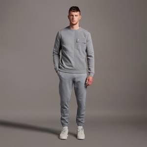 Slim Sweat Pant - Mid Grey Marl