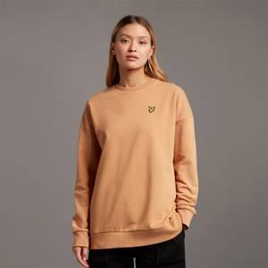 Oversized Sweatshirt - Tan