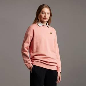 Oversized Sweatshirt - Warm Rose