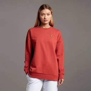 Oversized Sweatshirt - Chilli Red