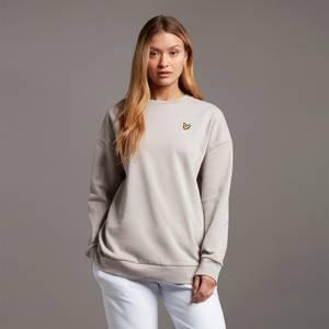 Oversized Sweatshirt - Fawn Grey