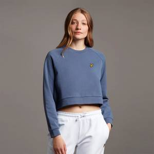 Cropped Sweatshirt - Nightshade Blue