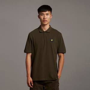 Casuals Tipped Polo Shirt - Olive