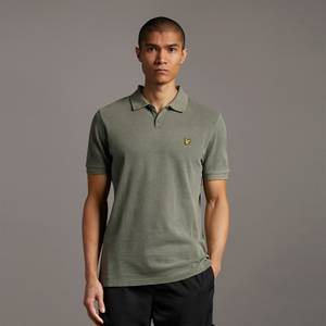 Washed Out Polo Shirt - Olive