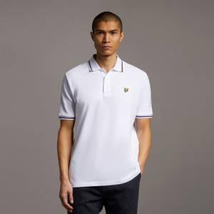 Double Tipped Polo Shirt - White