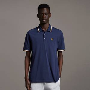 Double Tipped Polo Shirt - Navy