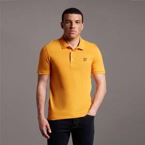 Plain Polo Shirt - Sunflower