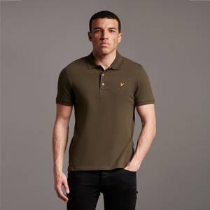 Plain Polo Shirt - Olive