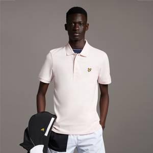 Plain Polo Shirt - Light Pink