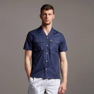 Utility Pocket Shirt - Navy