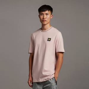 Casuals Tipped T-shirt - Stone Pink
