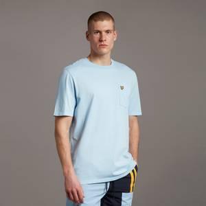 Washed Relaxed Pocket T-Shirt - Fresh Blue