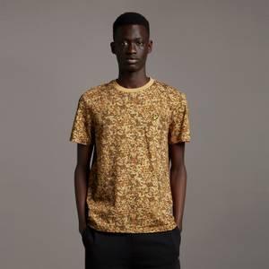 Earth Print T-shirt - Tan