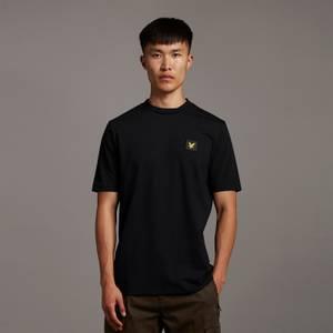 Casuals Nylon Sleeve T-shirt - Jet Black