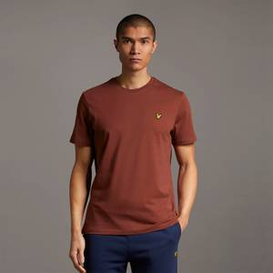 Plain T-Shirt - Rust