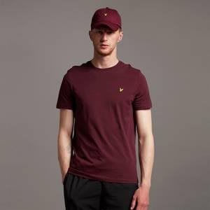 Plain T-Shirt - Burgundy