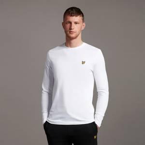 Plain L/S T-Shirt - White