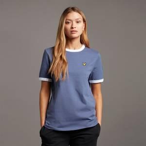 Ringer T-shirt - Nightshade Blue