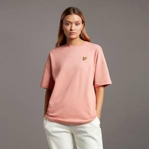 Oversized T-shirt - Warm Rose