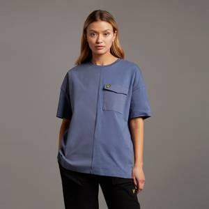 Canvas Mix T-Shirt - Nightshade Blue