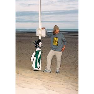 Lyle & Scott X Golfickers Crew Knit - Mid Grey Marl