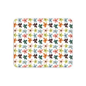 Blotch Flowers Mouse Mat