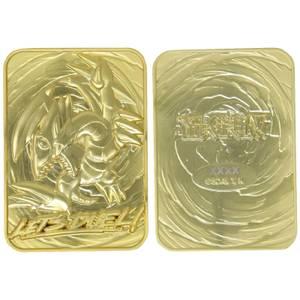 Fanattik: Yu-Gi-Oh! Limited Edition 24K Gold Plated Collectible - Blue Eyes Toon Dragon
