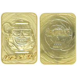 Fanattik: Yu-Gi-Oh! Limited Edition 24K Gold Plated Collectible - Pot of Greed