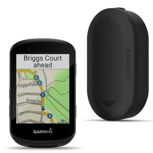 Garmin Edge 530 GPS Cycling Computer/Garmin Varia RVR315 Radar Bundle