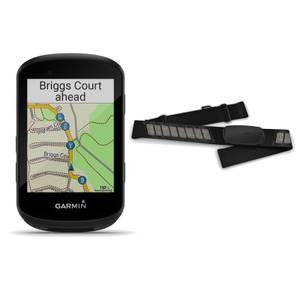 Garmin Edge 530 GPS Cycling Compute/Garmin HRM-Dual Heart Rate Monitor Bundle