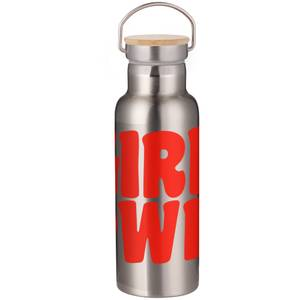 Feminist Girl Pwr Portable Insulated Water Bottle - White