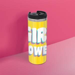 Feminist Girl Power Stainless Steel Thermo Travel Mug