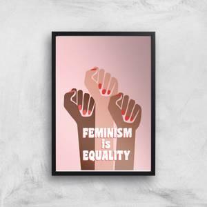 Feminist Feminism Is Equality Giclee Art Print