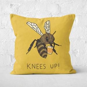 Bees Knees Up Square Cushion