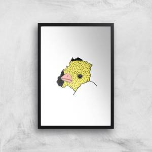 Here's Chicky Giclee Art Print