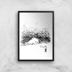Get In The Sea Giclee Art Print