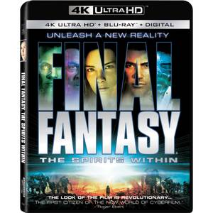 Final Fantasy: The Spirits Within - 4K Ultra HD (Includes Blu-ray)