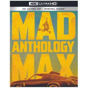 Mad Max Anthology: Mad Max / The Road Warrior / Mad Max Beyond Thunderdome - 4K Ultra HD
