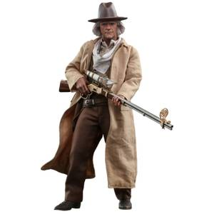 Hot Toys Back to the Future III Movie Masterpiece Action Figure 1/6 Doc Brown 32cm