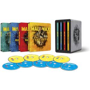 Mad Max Anthology - 4K Ultra HD Zavvi Exclusive Steelbook Collection