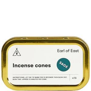 Earl of East Incense Cones Sage