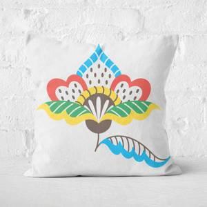 Informal Flower Square Cushion