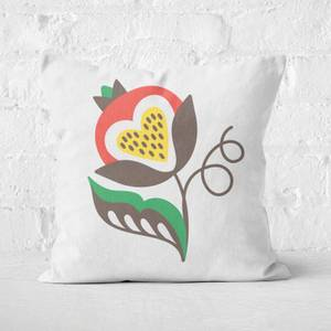 Unaffected Flower Square Cushion