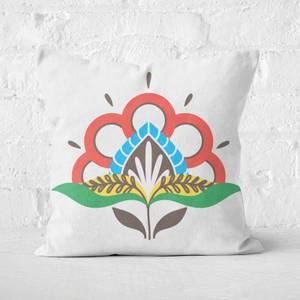Modest Flower Square Cushion