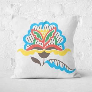 Natural Flower Square Cushion