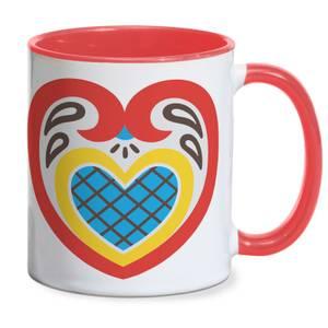 Sober Minded Heart Mug - Red